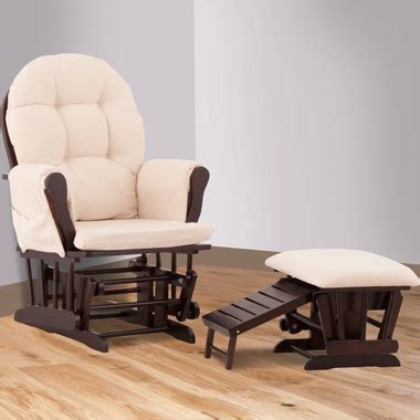 roma glider and nursing ottoman roma glider and nursing ottoman in and beige
