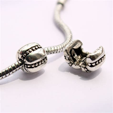 1pcs freeshipping 925 silver alloy safety stopper