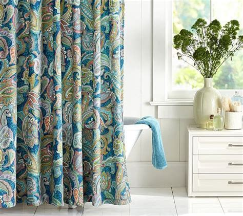 blue paisley curtains 1000 images about blue paisley shower curtain on