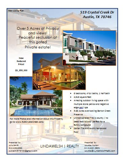 real estate listing flyer template free flyer templates archives microsoft word templates