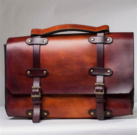 Handmade Leather Accessories - handmade leather accessories briefcases and shoulder bags
