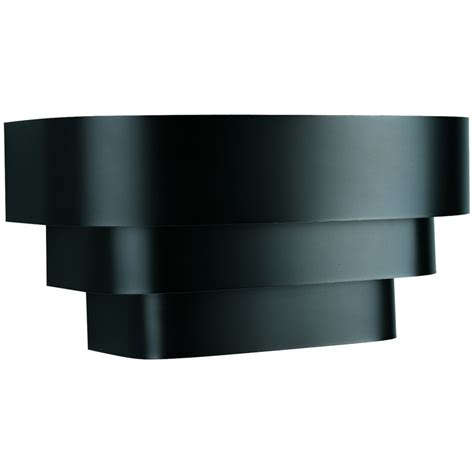 progress lighting black 1 light wall sconce the home