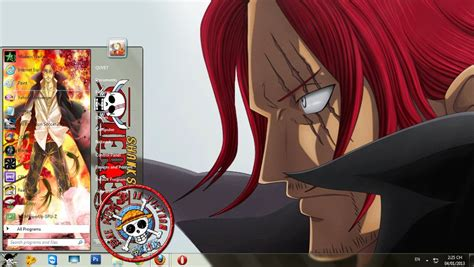 themes line one piece shanks one piece window 7 themes by ds3p8nf0 on deviantart