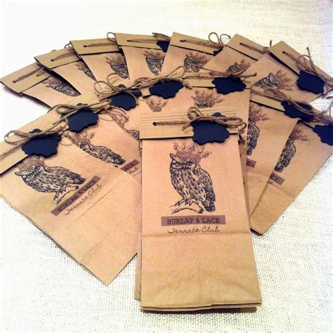 Brown Paper Bag Craft Ideas - packaging ideas for your crafts