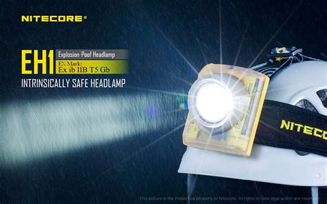 Jual Nitecore Eh1 Rechargeable Led Headl With 6800mah nitecore eh1 intrinsically safe explosion proof headl