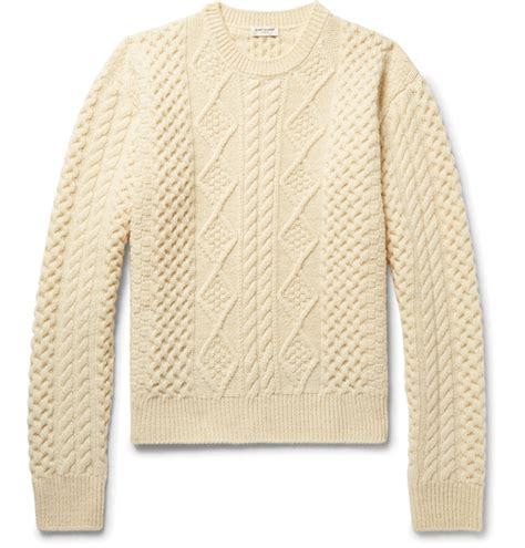 define knitted define your look with cable knit sweaters da magazine