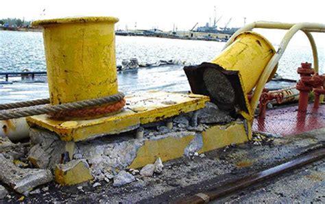 recent marine bollard failures give uscg cause for concern