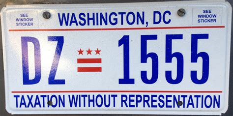 Vanity Plates Washington by Washington D C A Motorist S Abyss The Bangshift