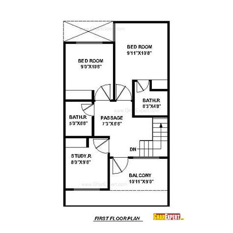 house plan for 20 feet by 45 feet plot house plan for 20 feet by 45 feet plot plot size 100 square yards
