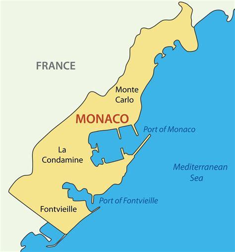 monaco europe map location on map europe monaco monaco country map elsavadorla