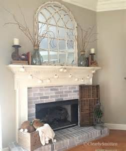 Decorating Ideas Above Fireplace Best 25 Fireplace Decor Ideas On Mantle