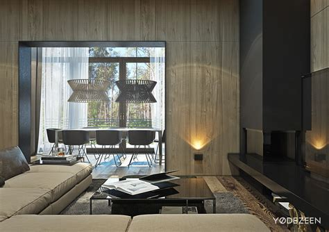 modern wood paneling a suburban kiev apartment design with luxury in mind