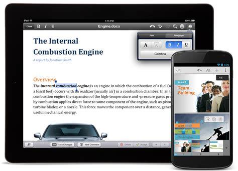 office mobile gratis quickoffice une suite bureautique gratuite pour mobile