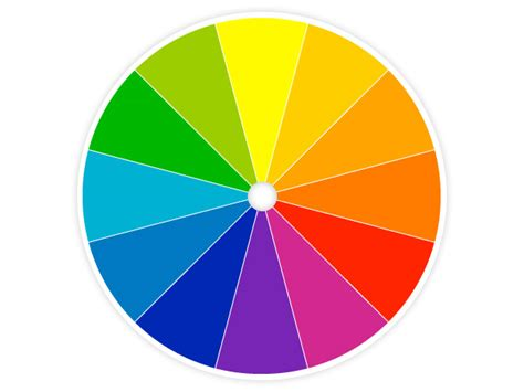 color wheel decorating your home using the color wheel