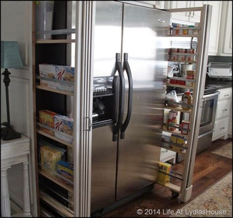 Fridge Pantry Cabinet by 10 Best Images About Pantries On Shelves