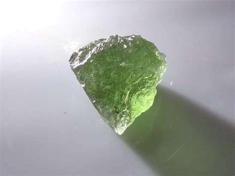 Green Moldavite top grade best color moldavite