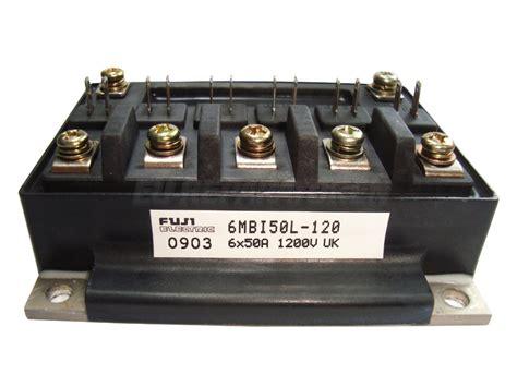 Igbt 2mbi 50l 120 Fuji Electric shop 6mbi50l 120 fuji electric igbt module 6 pack 50a 1200v 6mbi50l120