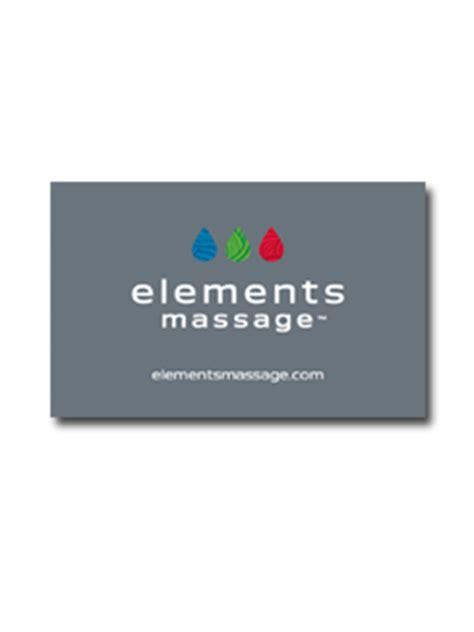 Online Massage Gift Cards - massage gift cards elements massage