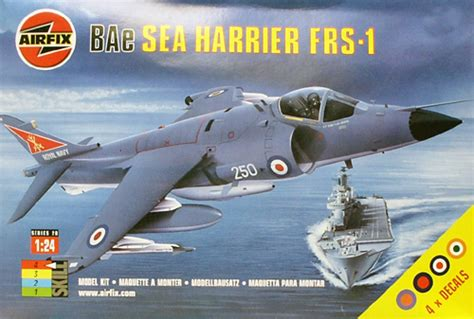 Section 2 Harrier by Airfix Bae Sea Harrier Frs 1 Conversion To Fa 2 1 24