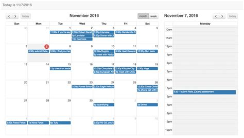 tutorial bootstrap calendar creating a calendar app using full calendar javascript