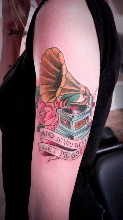 phonograph tattoo 25 best tattoos images on tattoos