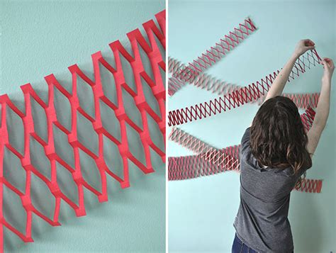 Garland Home Decor Paper Net Garland Diy