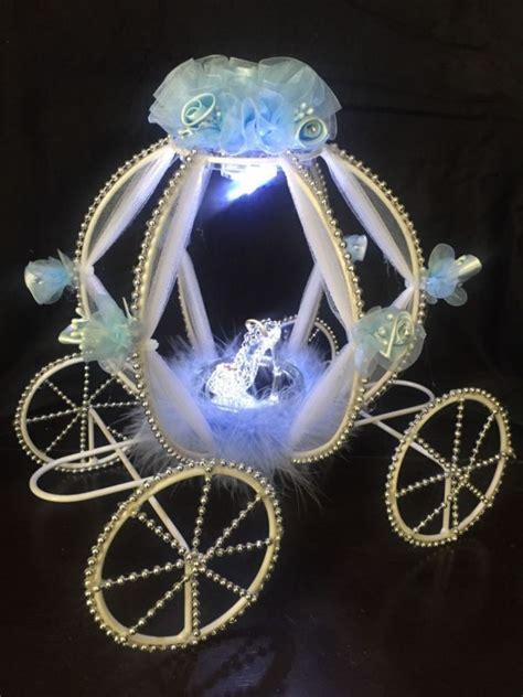 cinderella carriage centerpiece quinceanera wedding baby