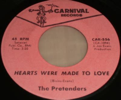 the pretenders hearts were made to love / for the rest