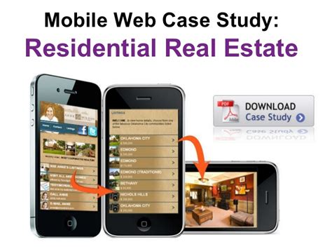 mobile marketing real estate real estate mobile marketing study