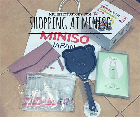 Travel Kit Miniso michi photostory shopping at miniso