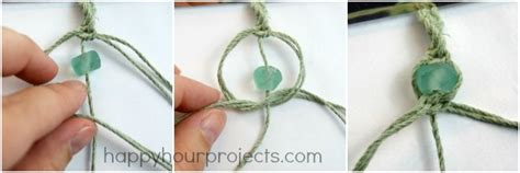 How Do You Do Macrame - glass bead macrame bracelet happy hour projects bloglovin