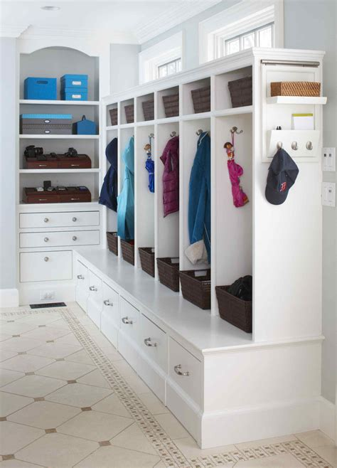 Mudroom Organizer by Mud Room