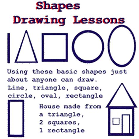 SHAPES DRAWING LESSON