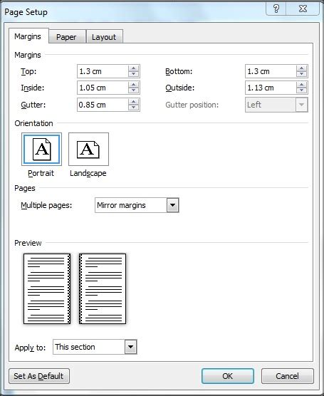 layout margin exle of how to layout paperback for createspace
