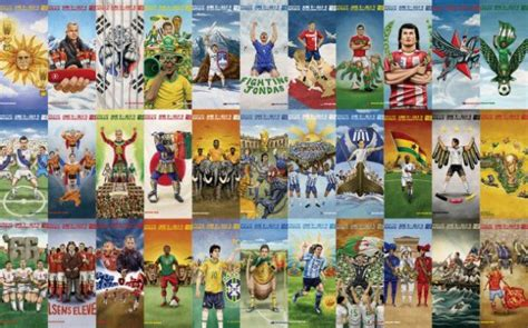 caricatures equipes coupe du monde 2010