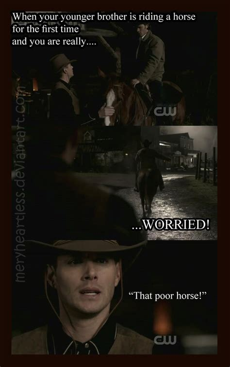 Save A Horse Ride A Cowboy Meme - supernatural memes deviantart more like supernatural