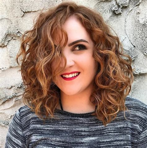 lob with wavy perm 50 gorgeous perms looks say hello to your future curls