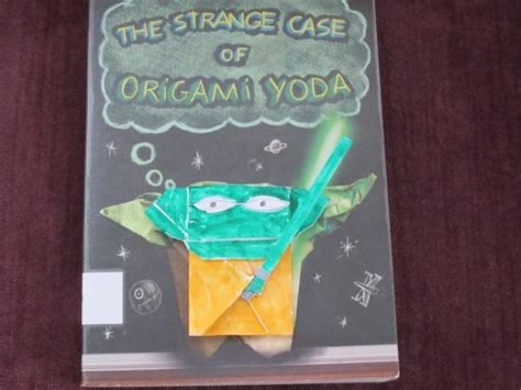 How To Make The Real Origami Yoda - the real cover yoda origami yoda