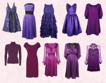 Fall 2008 Trend Gray And Purple by Fashion Trends In Purple Dresses Autumn 2007