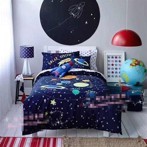 rocket bedroom free shipping universe space rocket bedding set kids