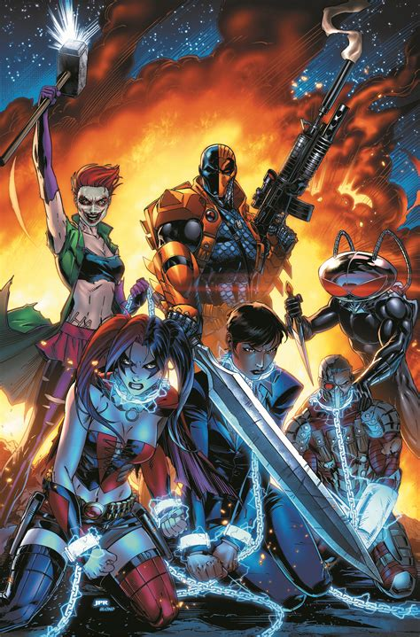 new titles from dc comics fall 2014 and spring 2015 dc comics to launch new suicide squad 1 in july ign