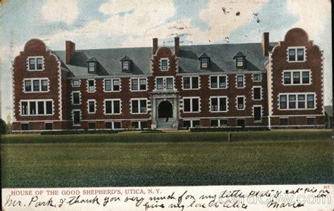 House Of The Shepherd by House Of The Shepherd S Utica Ny Postcard