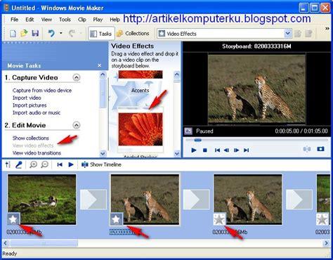 membuat storyboard video clip cara membuat video dari foto membuat foto menjadi video