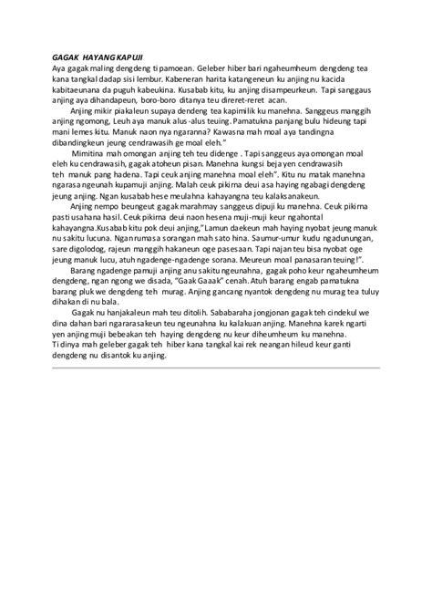 contoh laporan wawancara bahasa sunda contoh homonim bahasa sunda contoh 36