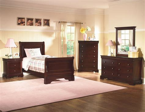bordeaux bedroom set versaille bordeaux youth sleigh bedroom set from new