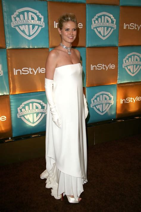 In Style And Warner Bros 2007 Golden Globe After by Heidi Klum Photos Photos In Style Magazine And Warner