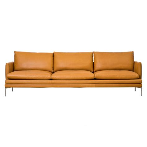 william sofa william sofa leather 3 seater the conran shop