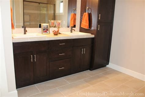 bathroom vanity maple master bathroom vanity cabinets which color do you
