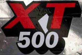 Aufkleber Yamaha Xt 500 by Yamaha Xt 500 Seitendeckelembleme Xt500 Aufkleber Gravocut