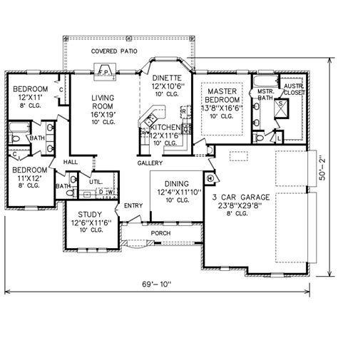 perry home plans floor plan 6171